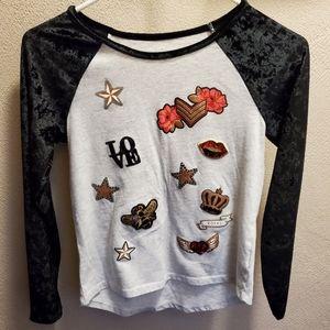 Girls rock / love shirt